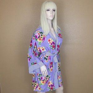 Vintage Victoria's Secret Gold Label Silk Robe